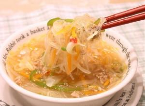 soup harusame 300x220 ダイエット中でも食べて良いものは?空腹に備えて常備したい非常食リスト