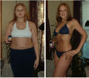 hollybeforeafter 300x262 ダイエットに成功したひとたちの画像16連発!